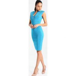 Sukienki hiszpanki: Karen Millen SPORTY PANEL COLLECTION Sukienka etui blue