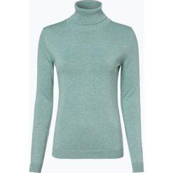Brookshire - Sweter damski, niebieski. Czarne golfy damskie marki brookshire, m, w paski, z dżerseju. Za 179,95 zł.