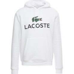Lacoste Bluza z kapturem blanc. Białe bluzy męskie rozpinane Lacoste, m, z bawełny, z kapturem. Za 509,00 zł.