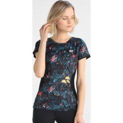 Lotto URSULA TEE Tshirt z nadrukiem black. Czarne t-shirty damskie Lotto, s, z nadrukiem, z materiału. Za 129,00 zł.