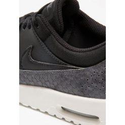 Trampki damskie slip on: Nike Sportswear AIR MAX THEA PRM Tenisówki i Trampki black/dark grey