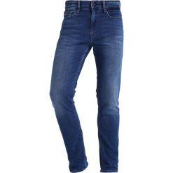 Calvin Klein Jeans SKINNY TRUE MID Jeansy Slim Fit blue denim. Niebieskie jeansy męskie relaxed fit Calvin Klein Jeans. Za 419,00 zł.