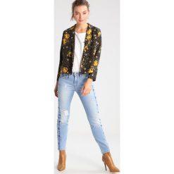 LOIS Jeans BELINDA Jeansy Slim Fit double stone. Czarne jeansy damskie marki LOIS Jeans, z bawełny. W wyprzedaży za 412,30 zł.