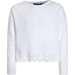Odzież chłopięca: Polo Ralph Lauren EYELET  Bluza white