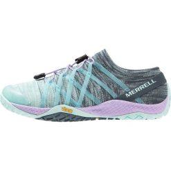 Merrell TRAIL GLOVE 4 KNIT Obuwie do biegania neutralne aqua. Niebieskie buty do biegania damskie marki Merrell, z materiału. Za 419,00 zł.