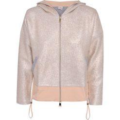Bluzy rozpinane damskie: Bluza DEHA EXPRESSION Beżowy|Złoty