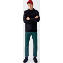 Bluza basic z półgolfem. Czarne bluzy męskie rozpinane Pull&Bear, m. Za 69,90 zł.