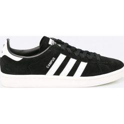 Adidas Originals - Buty Campus. Czarne halówki męskie adidas Originals, z gumy, na sznurówki. Za 399,90 zł.