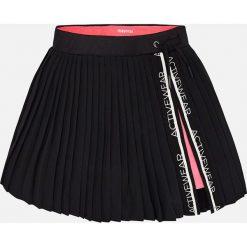 Mayoral - Spódnica dziecięca 128-167 cm. Czarne spódniczki dziewczęce Mayoral, z dzianiny, mini. Za 129,90 zł.