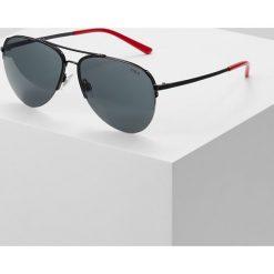 Polo Ralph Lauren Okulary przeciwsłoneczne shiny black/gray. Czarne okulary przeciwsłoneczne damskie aviatory Polo Ralph Lauren. Za 609,00 zł.