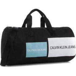 Torba CALVIN KLEIN JEANS - Sport Essential Barrel K40K4008891 910. Czarne torebki klasyczne damskie Calvin Klein Jeans, z jeansu. Za 449,00 zł.