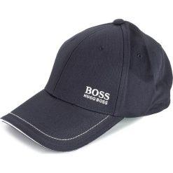 Czapka z daszkiem BOSS - Cap 1 50245070 Navy 410. Niebieskie czapki z daszkiem męskie Boss, z bawełny. Za 169,00 zł.