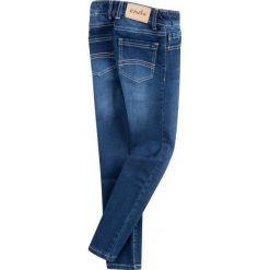 Jeansy rurki dla dziewczynki. Niebieskie jeansy dziewczęce Endo, z jeansu. Za 59,90 zł.