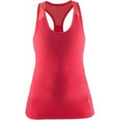 Craft Koszulka Habit Pink Xs. Różowe bluzki sportowe damskie marki Craft, xs, z materiału, bez rękawów. W wyprzedaży za 75,00 zł.