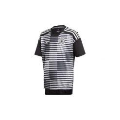 T-shirty z krótkim rękawem Dziecko  adidas  Koszulka przedmeczowa reprezentacji Niemiec. Białe bluzki dziewczęce z krótkim rękawem Adidas. Za 199,00 zł.