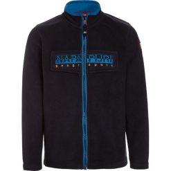 Napapijri TAMBO FULL Kurtka z polaru blu marine. Niebieskie kurtki chłopięce marki Napapijri, z bawełny. W wyprzedaży za 271,20 zł.