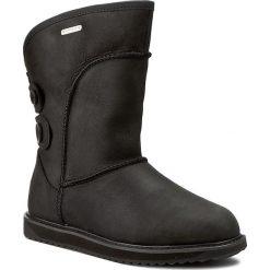 Buty zimowe damskie: Buty EMU AUSTRALIA – Charlotte Leather W11248 Black