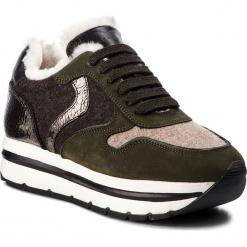 Sneakersy VOILE BLANCHE - May Fur 0012012793.01.9104 Verde/Beige/T.Moro. Zielone sneakersy damskie Voile Blanche, z materiału. Za 979,00 zł.