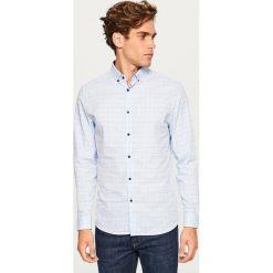 Koszula regular fit - Niebieski. Niebieskie koszule męskie marki Reserved, l. Za 69,99 zł.