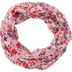 Szaliki damskie: Szal koło w kwiaty bonprix pastelowy jasnoróżowy – jeżynowy