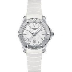 PROMOCJA ZEGAREK CERTINA DS Action C032.251.17.011.00. Białe zegarki damskie CERTINA, pozłacane. W wyprzedaży za 1707,20 zł.