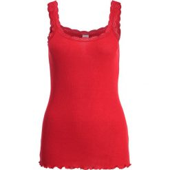 Topy damskie: Cream Top american beauty red