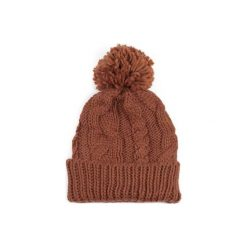 Czapka damska Winter comfort brązowa. Brązowe czapki zimowe damskie Art of Polo. Za 28,94 zł.