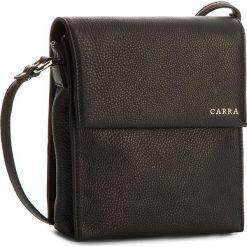 Torebka CARRA - EC547/14  Nero. Czarne listonoszki damskie marki Carra, ze skóry, zdobione. W wyprzedaży za 289,00 zł.
