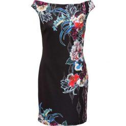 Sukienki hiszpanki: Sukienka bonprix czarno-niebieski