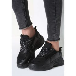 Czarne Sneakersy Too Young. Czarne sneakersy damskie marki Born2be, z materiału. Za 89,99 zł.
