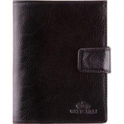 Portfel 21-1-339-1. Czarne portfele męskie Wittchen. Za 299,00 zł.