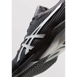 Buty do tenisa męskie: ASICS SOLUTION SPEED FF CLAY Obuwie do tenisa Outdoor black/silver