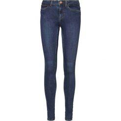 Noisy May LUCY  Jeans Skinny Fit blue denim. Niebieskie rurki damskie Noisy May. Za 179,00 zł.