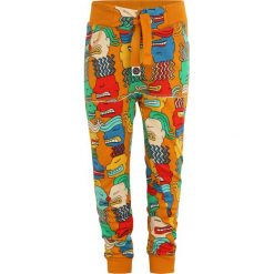 Mainio ZGREEN FACES CHILDREN`S ZIPUP SWEATPANTS Spodnie treningowe orange. Brązowe spodnie dresowe dziewczęce Mainio, z bawełny. W wyprzedaży za 126,75 zł.
