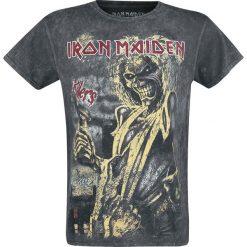 Iron Maiden Killers Vintage T-Shirt czarny. Czarne t-shirty męskie Iron Maiden, xxl. Za 114,90 zł.