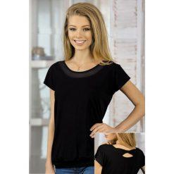 Bluzki asymetryczne: Damska bluzka z wiskozy Chanel