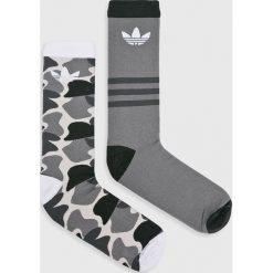 Adidas Originals - Skarpety (2-Pack). Szare skarpetki męskie adidas Originals, z bawełny. W wyprzedaży za 39,90 zł.