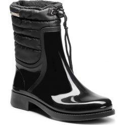 Kalosze KAZAR - Elvira 30433-TS-00 Black. Białe buty zimowe damskie marki Kazar, ze skóry, na wysokim obcasie, na szpilce. Za 399,00 zł.