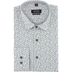 Koszula versone 2831 długi rękaw custom fit szary. Szare koszule męskie marki Recman, na lato, l, w kratkę, button down, z krótkim rękawem. Za 149,00 zł.