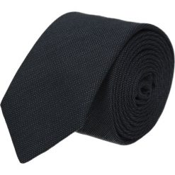 Krawat platinum grafit classic 203. Czarne krawaty męskie Recman. Za 49,00 zł.