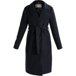 Płaszcze damskie pastelowe: ICHI SUNO Płaszcz wełniany /Płaszcz klasyczny dark navy