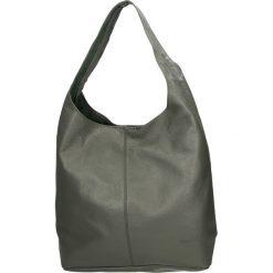 Torba - 84-555-O D GR. Szare torebki klasyczne damskie Venezia, ze skóry. Za 299,00 zł.