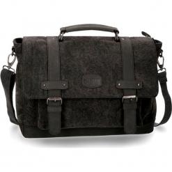Torba w kolorze antracytowym na laptopa - (S)39 x (W)29 x (G)12 cm. Szare torby na laptopa marki Pepe Jeans, w paski, z materiału. W wyprzedaży za 519,95 zł.