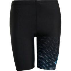 Speedo GALA LOGO JAM  Kąpielówki black/neon blue. Czarne kąpielówki męskie marki Speedo, z elastanu. Za 159,00 zł.
