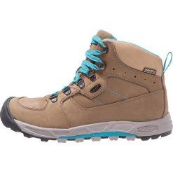 Keen WESTWARD MID WP Buty trekkingowe shitake/venice blue. Brązowe buty trekkingowe damskie Keen, z gumy. Za 629,00 zł.