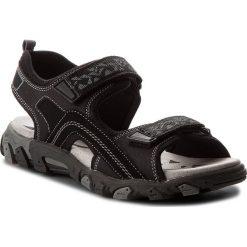 Sandały męskie skórzane: Sandały SUPERFIT – 2-00451-00 D Schwarz