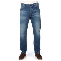 Mustang Jeansy Męskie Bonneville 33/32 Niebieski. Czarne jeansy męskie marki Mustang, l, z bawełny, z kapturem. W wyprzedaży za 225,00 zł.