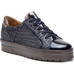 Sneakersy CAPRICE - 9-23700-21 Blue Comb 852. Niebieskie sneakersy damskie Caprice, z lakierowanej skóry. W wyprzedaży za 239,00 zł.