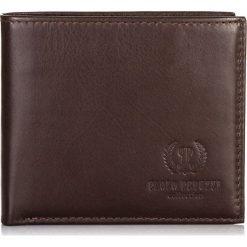 Brązowy PORTFEL MĘSKI PAOLO PERUZZI SKÓRA CIELĘCA. Brązowe portfele męskie Paolo Peruzzi, ze skóry. Za 119,00 zł.