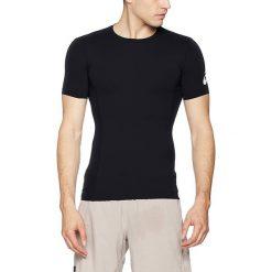 Asics Koszulka Męska Base Top Performance Black r. L. Szare koszulki sportowe męskie marki Asics, z poliesteru. Za 90,98 zł.